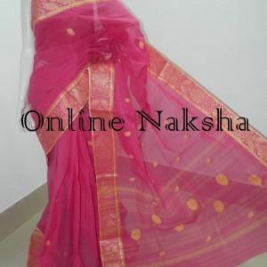 3705 Bengal Tant Baluchari Saree