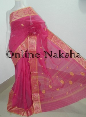 Tant Baluchari Saree
