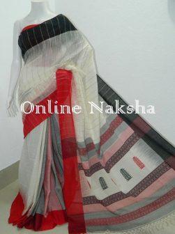 Handloom Cotton Khadi Saree