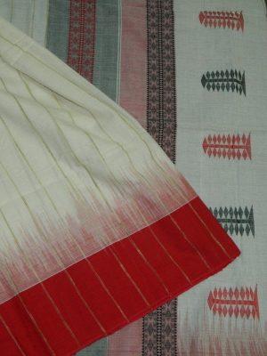Cotton Khadi Saree