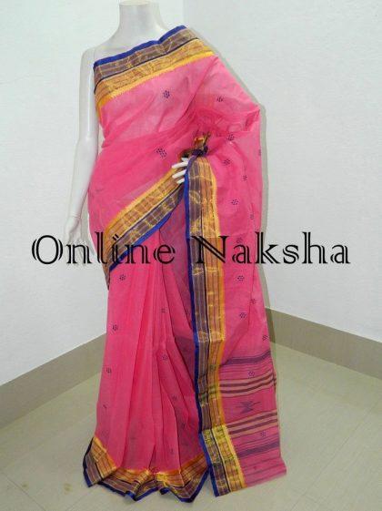 Bengal Handloom Taant Saree