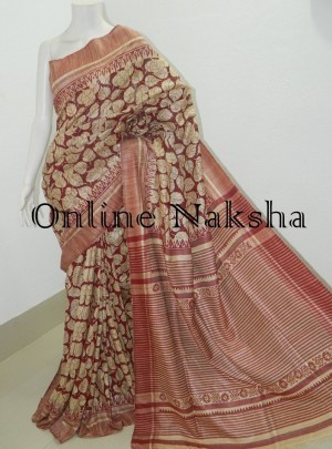Tussar Printed Saree