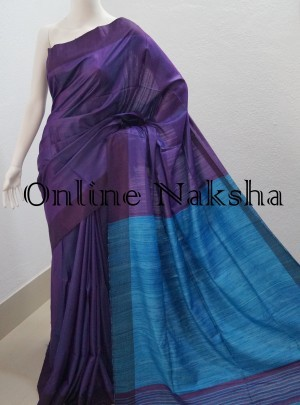 Soft Ghicha Silk Saree
