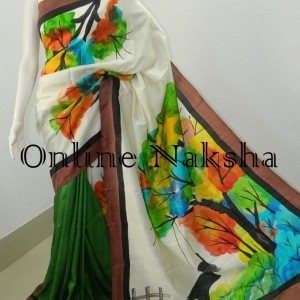 3845 Painted Pure Silk Online