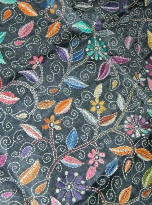 Kantha Stitch Kurti Material