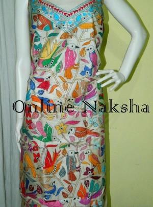 Online Tussar Dress Materia