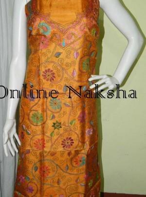 Online kantha Stitch Dress Material
