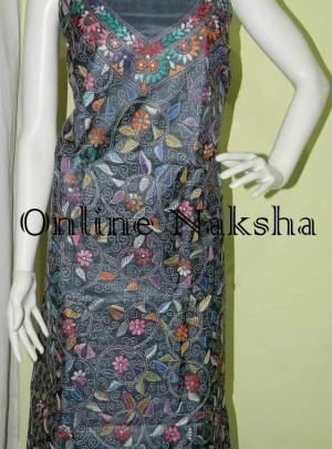 Unstitched Kantha Dress Material