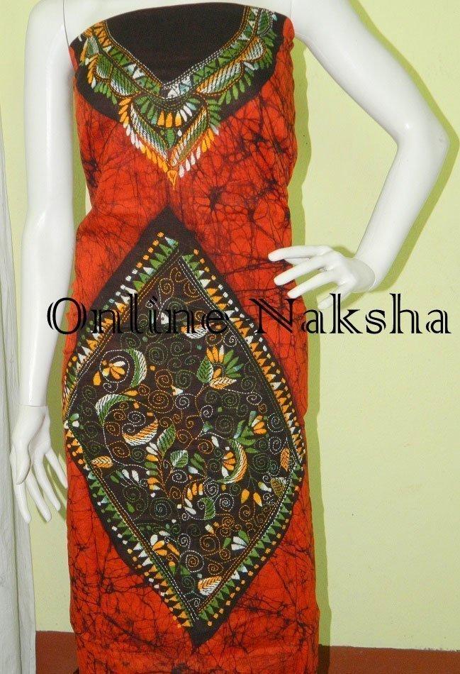 Batik Kurti Material Online