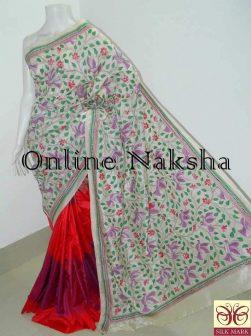 Designer Kantha Saree Online