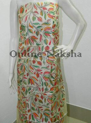 Online kantha Stitch Dress Material