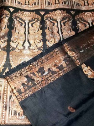 Pure Silk Swarnachari Saree