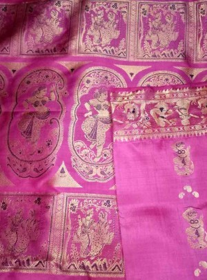 Latest Swarnachari Saree Online