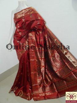 Bridal Swarnachari Saree