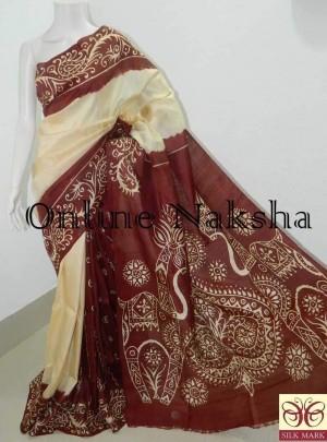 Hand Batik Saree Online