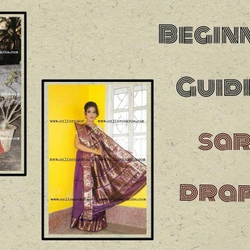 Beginner's Guide for Saree Draping