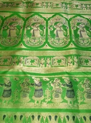 Bishnupuri Swarnachari Saree
