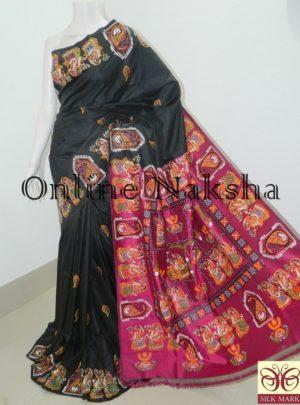 Pattachitra Silk Saree