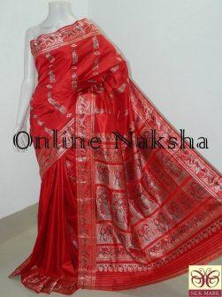 Bishnupuri Baluchari Silk Sari Online