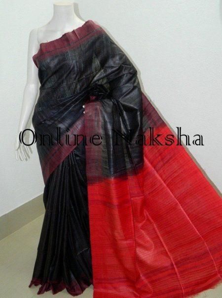 Ghicha Tussar Sari Online