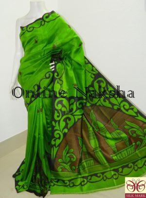 Vintage Handpainted Saree Online
