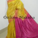 Latest Yellow Ghicha Sarees Online