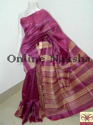 Handwoven Kosa Silk Saree Online