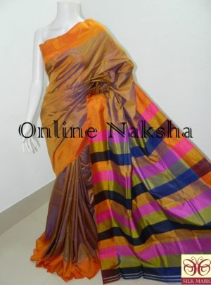 4010 Mulberry Pure Silk saree Online