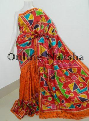 Handloom Pure Silk Batik Sarees Online