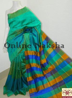 Bishnupuri Pure Silk Katan Saree Online 4091