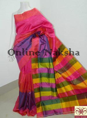 Handloom Pure Silk 3D Saree Online