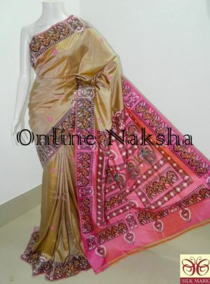 Patachitra Pure Silk Saree Online