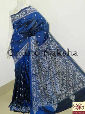 Hand Embroidery Saree