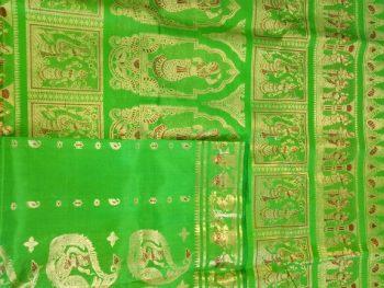 Green Sournchari Wedding Saree Online