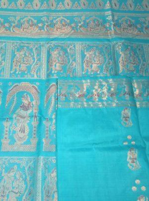 Bishnupuri Swarnachari Silk Saree Online