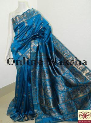 Bridal Bishnupuri Swarnachari Saree Online