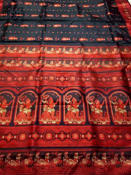 Bishnupuri Baluchari Pure Silk Sari Online price