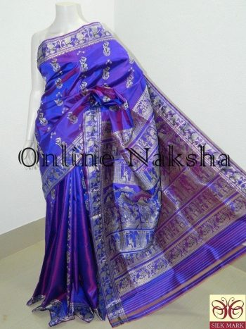 Traditional Baluchari Silk Sari Online
