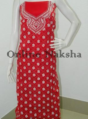 Cotton Kantha Kurti Material Online