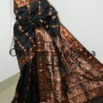 Black Bishnupuri Sournchari Sharee Online