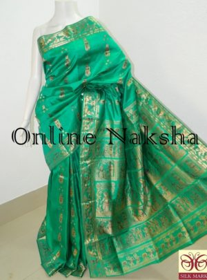 Bishnupuri Sournchari Pure Silk Saree