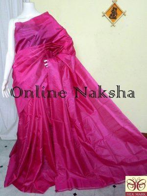 Handloom Soft Pure Silk Plain Saree