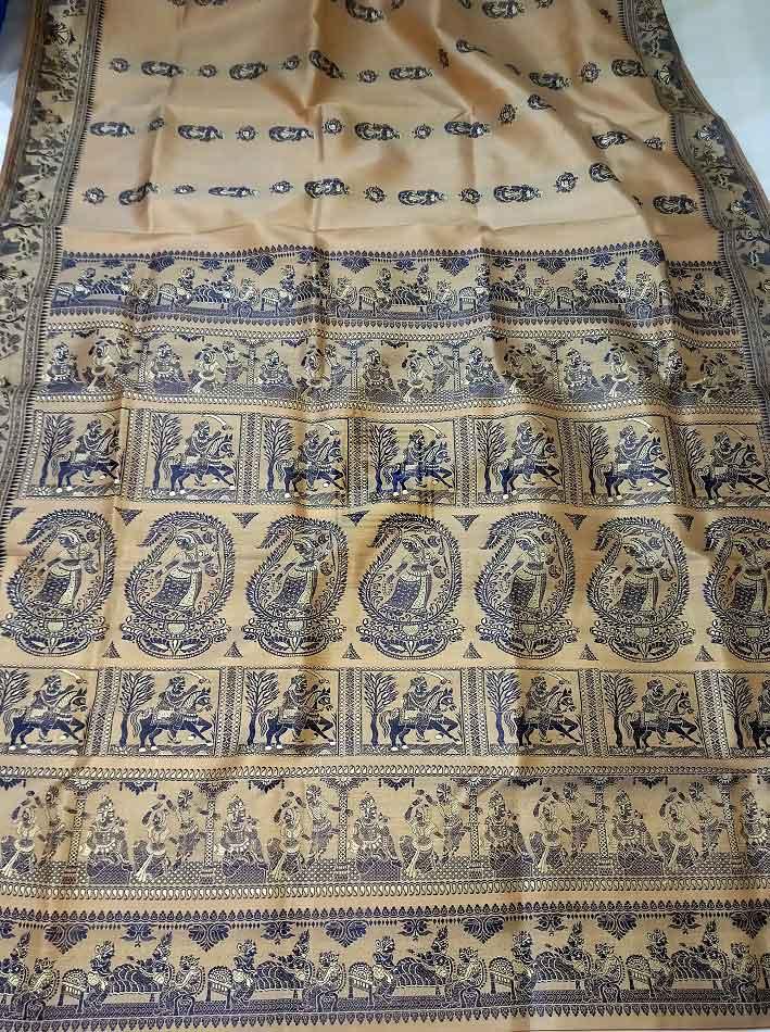 Traditional Bengal Baluchari Sari