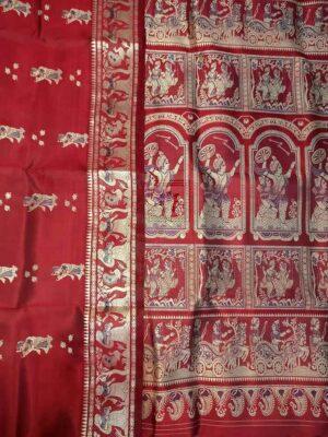 Baluchari Silk Saree