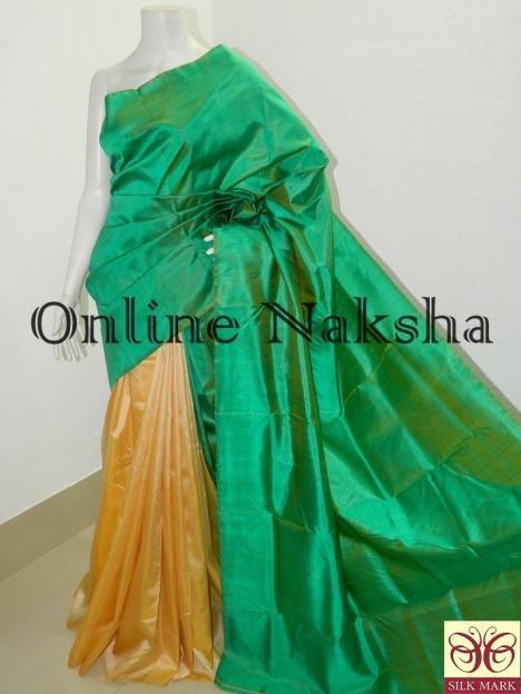 Handloom Bishnupuri Silk Sari Online