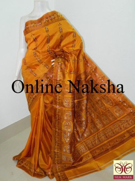 Bishnupuri Baluchari Silk Saree Online