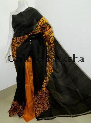Exclusive Hand Batik Saree Online