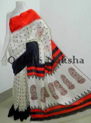 Bishnupur Silk Saree