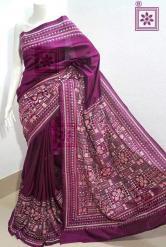 Kantha Work Sari