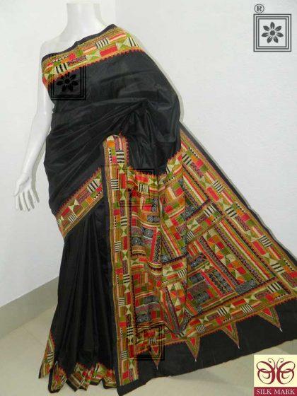 Kantha Stitch Saree Online Best Price
